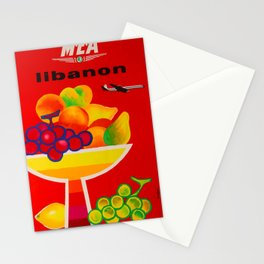 Libanon Placard Stationery Cards