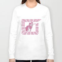 mlp Long Sleeve T-shirts featuring MLP: Pinkie Pie goes Whoo by turokevie