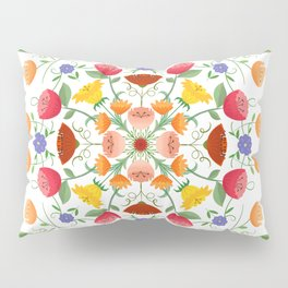 A Symphony Of Floral Delights Pillow Sham