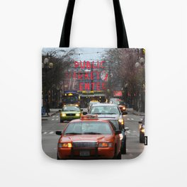 Pike Place Market Photography Print Tote Bag