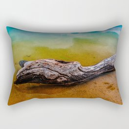 Drifting in a colorful world Rectangular Pillow