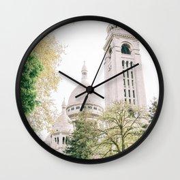 Sacre Coeur from Behind Wall Clock