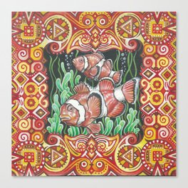 WaterColourWorld 2 Canvas Print