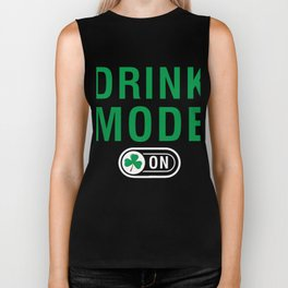 Great Costume For Irish. Patrick's Day Gift For Dad/Mom. Biker Tank