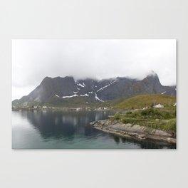 Behind the fog Canvas Print