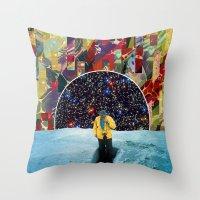 portal Throw Pillows featuring PORTAL  by Blaz Rojs
