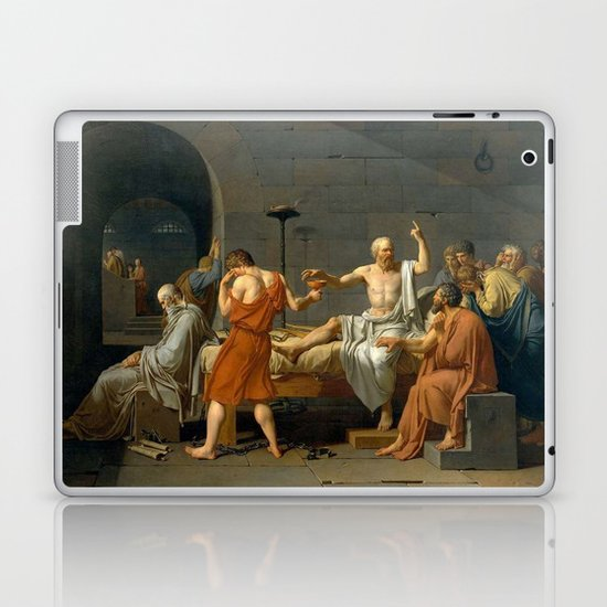 Jacques Louis David The Death of Socrates by vintageartstore