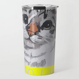 I do What i Want Animal Portrait Travel Mug