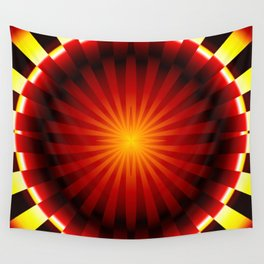 Red Dwarf Abstract Wall Tapestry