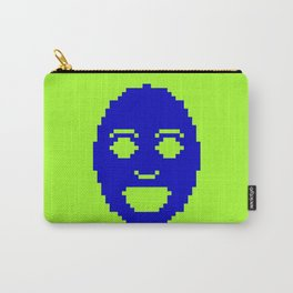 Pixel Face Carry-All Pouch
