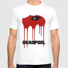 Dead-Pool Alternative Poster Mens Fitted Tee SMALL White