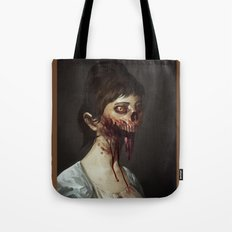 Old Zombie Portrait Tote Bag