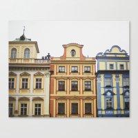 prague Canvas Prints featuring Prague   by Kameron Elisabeth