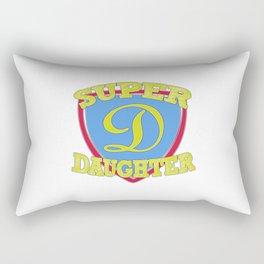 Super Daughter Rectangular Pillow