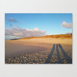 three shadows Canvas Print