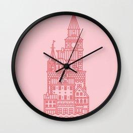 Copenhagen (Cities series) Wall Clock