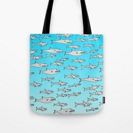 Tiburoncillos Tote Bag