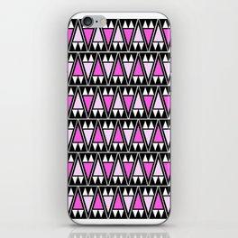 Wild Violet Arrowheads iPhone Skin