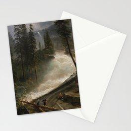 Nevada Falls, Yosemite by Albert Bierstadt, 1872 Stationery Cards