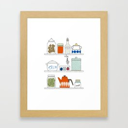 Scandinavian Pantry Framed Art Print
