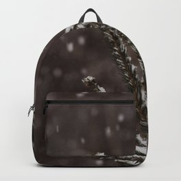 Snow Upon the Branches (Color) Backpack