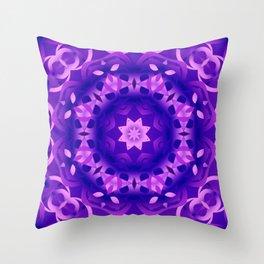 kaleidoscope Flower G186 Throw Pillow
