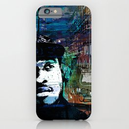 MIDNIGHT BLUES iPhone Case