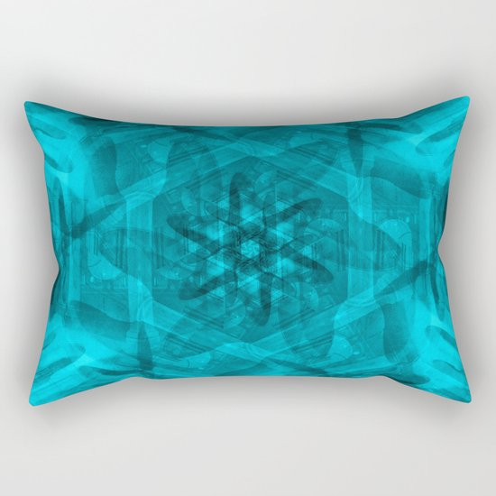 History in a spin Rectangular Pillow