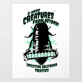 Creatures From Beyond! Art Print