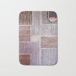 3D Leather carpet texture Bath Mat