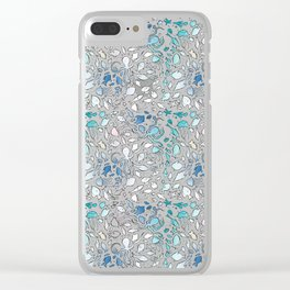 Colorful Sealife Clear iPhone Case
