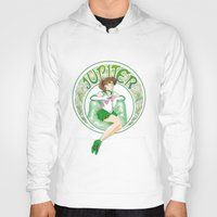 sailor jupiter Hoodies featuring Sailor Jupiter by Neo Crystal Tokyo