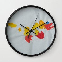Button Eyed Duck Wall Clock