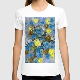 HYDRANGEA AND ROSES T-shirt