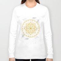 mandala Long Sleeve T-shirts featuring Mandala by famenxt