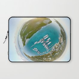 Tiny Planet Turks and Caicos Laptop Sleeve
