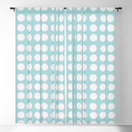 milk glass polka dots Blackout Curtain