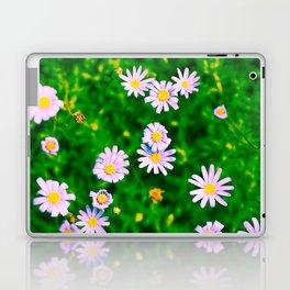 Hypercolor Purple Flowers Laptop & iPad Skin