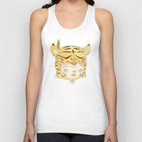 hiccup Tank Tops featuring DRUNKEN TIGAAAAR by PAUL PiERROt