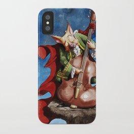 Feline counter bassist iPhone Case