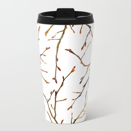 New Shrub Metal Travel Mug