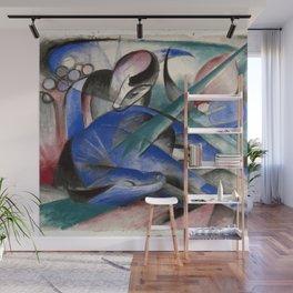 Franz Marc - Dreaming Horse Wall Mural