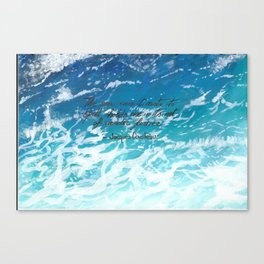 BlueSea Canvas Print
