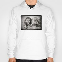che Hoodies featuring CHE by Dave Houldershaw