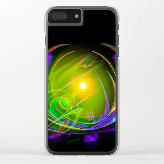 Magical Light and Energy 11 Clear iPhone Case