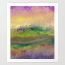 The Creek Bed Art Print