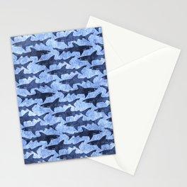 Blue Ocean Shark Stationery Cards