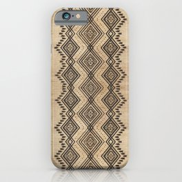 N105 - Traditional Bohemian Oriental African Moroccan Style Design. iPhone Case
