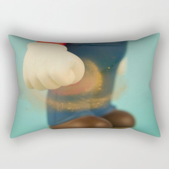 Inner strength in Mario Rectangular Pillow