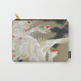 Jakuchu Phoenix with Paulownia Background Carry-All Pouch